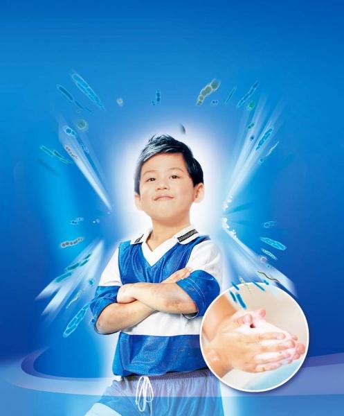 关心孩童,倡导正确洗手病菌不入口